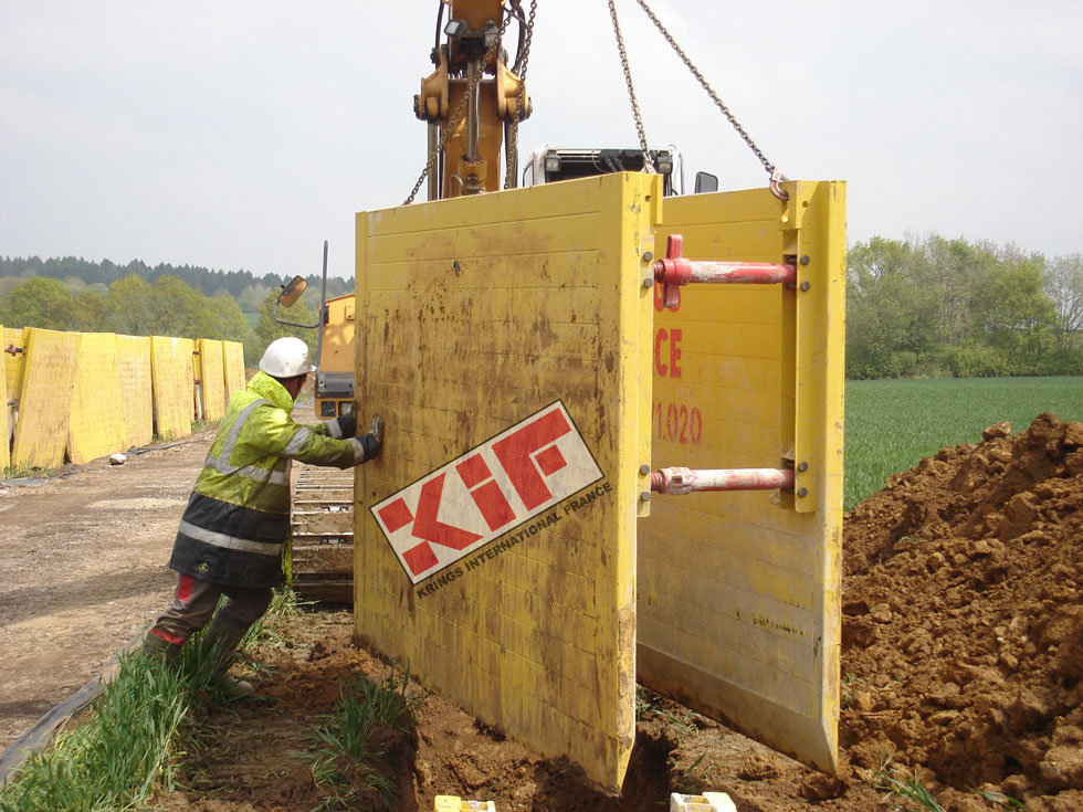 Light box KVL / Trench boxes / Our products / Accueil - Krings