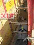 Krings, KIF, krings international france, trench shoring, trench box, slide rail, slide rail system, linéaire, trench, excavation, framework, pit, safety, sewer network, drainage network, public works, pipe puller, KVL, KS, KS60, KS100, KKP, DGPV, EGPV, DGFP, grab, pipe grab, heavy duty trench box, light box, sheet piles